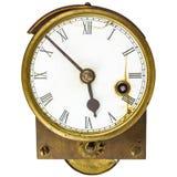 Vintage English gas calorimeter isolated on white Royalty Free Stock Photography