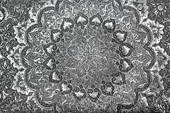 Vintage Engraved Metal. Image of vintage engraved metal for a background royalty free stock photos