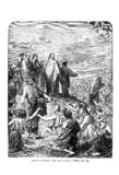 Christian Picture. Illustration on religious subject. Vintage engraving on a religious theme. Christianity, Orthodoxy and Catholicism royalty free illustration