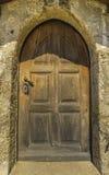 Vintage entrance door Stock Photos