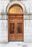 Vintage entrance door Royalty Free Stock Photos