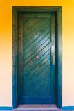 The vintage entrance door Royalty Free Stock Photography