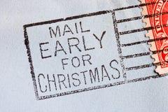 Vintage envelope Stock Photography