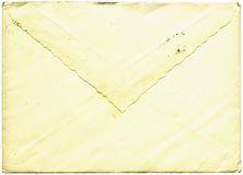 Vintage envelope. With wavy edges Royalty Free Stock Images