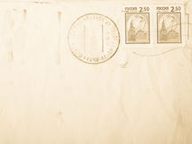 Vintage envelope Royalty Free Stock Images