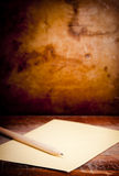 Vintage Envelope Background Stock Photography
