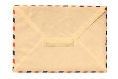 Vintage envelope isolated on white Stock Image