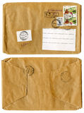 Vintage envelope for a letter Stock Photography