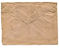 Vintage envelope for letter stock photo