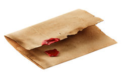 Vintage envelope Royalty Free Stock Image