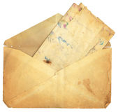 Vintage Envelope and Paper Royalty Free Stock Photo
