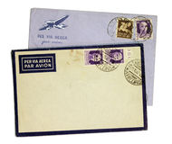 Vintage Envelopes Royalty Free Stock Photography