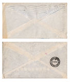Vintage envelopes Stock Images