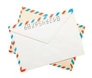 Vintage envelopes Royalty Free Stock Images