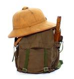 Vintage equipment for travellers.