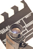 Vintage equipment for video recording Stock Photos