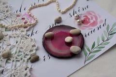 Vintage et pierres Photographie stock libre de droits