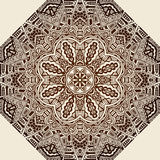Vintage ethnic abstract mandala doily background Royalty Free Stock Image