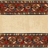 Vintage ethnic background seamless ornament Stock Images