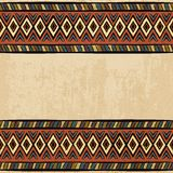 Vintage ethnic background seamless ornament Royalty Free Stock Photo