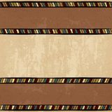 Vintage ethnic background seamless ornament Royalty Free Stock Image