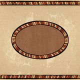 Vintage ethnic background seamless ornament Stock Image