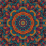 Vintage ethnic mandala seamless pattern Royalty Free Stock Image
