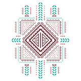 Vintage ethnic patterns. Vintage ethnic patterns for business, printing and clothing. On a white background Stock Image