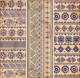 Vintage ethnic set of banners Stock Image