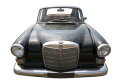Vintage European Car 50-60th Royalty Free Stock Photos