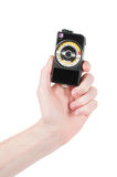 Vintage exposure meter Royalty Free Stock Photography