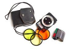 Vintage exposure meter Royalty Free Stock Images