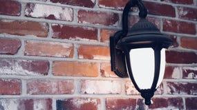 Vintage exterior da lâmpada imagens de stock royalty free