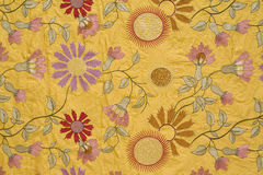 Vintage fabric background Stock Photography