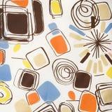 Vintage fabric detail. Royalty Free Stock Image