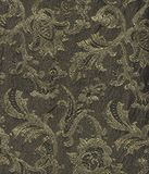 Vintage fabric with gold flowers Royalty Free Stock Photos