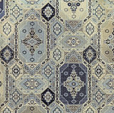 Vintage Fabric Panel Design. Royalty Free Stock Photo