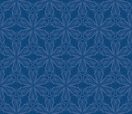 Vintage fabric seamless pattern design Stock Image
