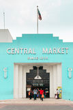 Vintage facade of Kuala Lumpur Central Market Royalty Free Stock Images