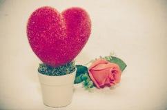 Vintage fake rose Royalty Free Stock Images