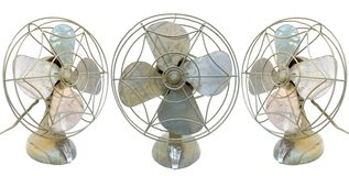 Vintage Fans Royalty Free Stock Photo