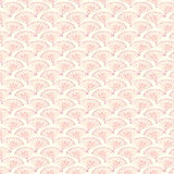 Vintage Fans Background Pattern Stock Image