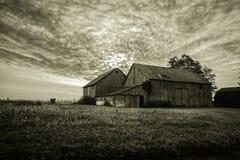 Vintage Farm Landscape stock photo