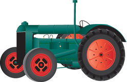 Vintage Farm Tractor Royalty Free Stock Image
