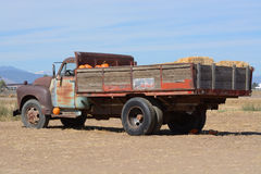 Vintage farm truck Stock Images