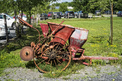 Vintage farming equipment Royalty Free Stock Photography
