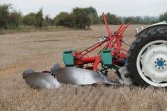 Vintage Farming Plough. Stock Photo