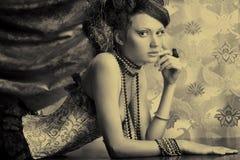 Vintage fashion Stock Image