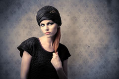 Vintage fashion Royalty Free Stock Photos