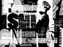 Vintage fashion background Royalty Free Stock Image
